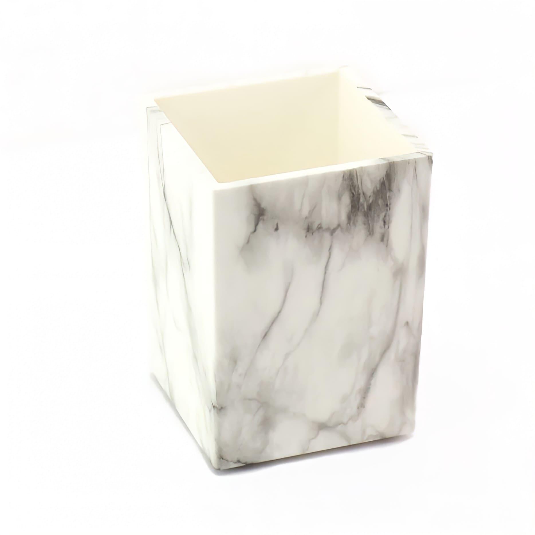 Porta canetas mármore