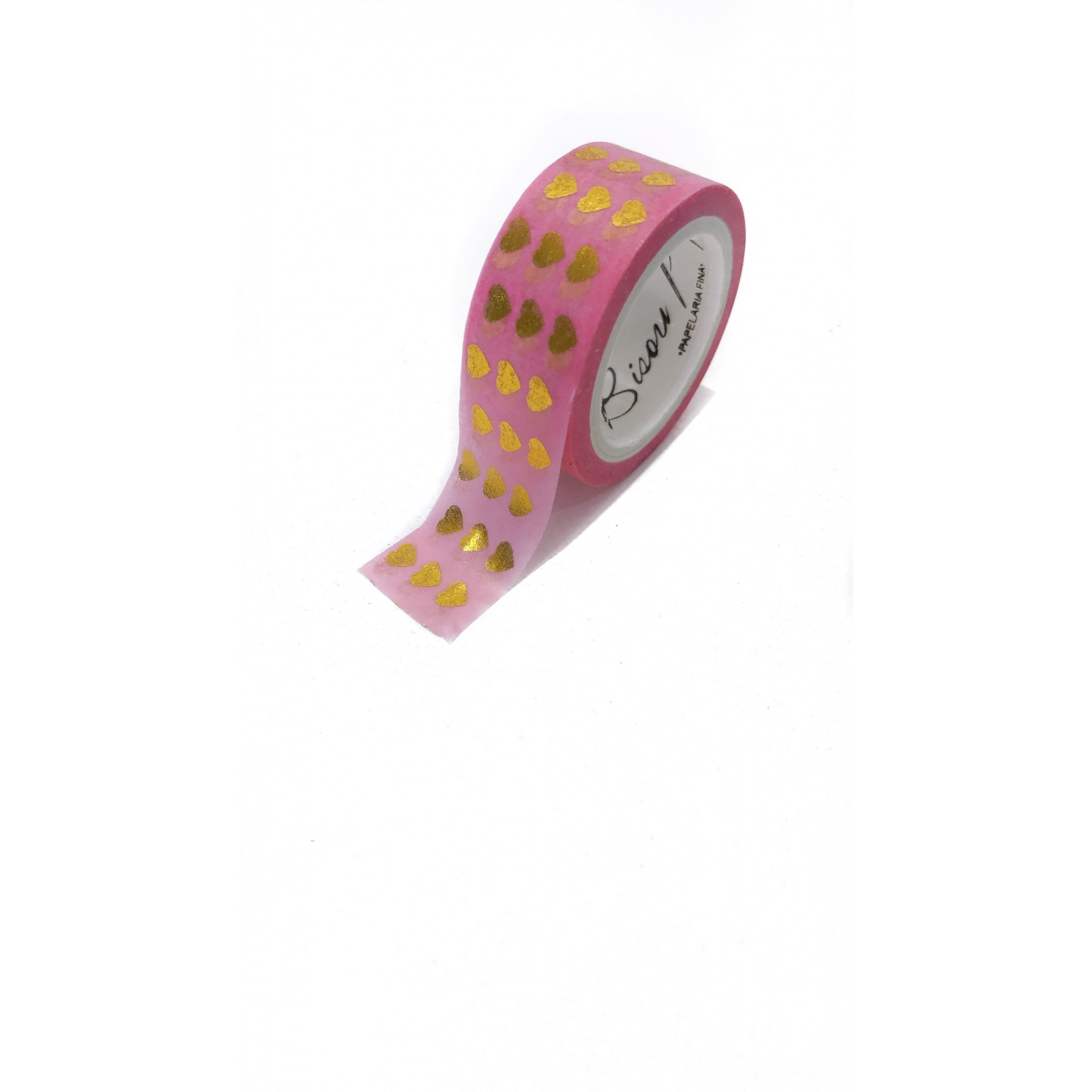 Washi tape - pink heart