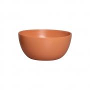 Cachepot Redondo Cerâmica Terracota Decoração 13,6x28,4 cm