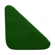 Cobogó Nova Bauhaus Triângulo Verde em Cerâmica Esmaltada 19,5x19,5x6 Cm