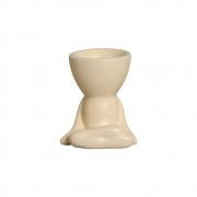 Robert Plant Pernas Cruzadas Marfim Cerâmica 10,7x9,5 cm