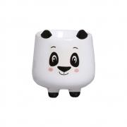 Vasinho Ursinho Panda p/ Suculentas Cacto Barato 8,7x8 cm