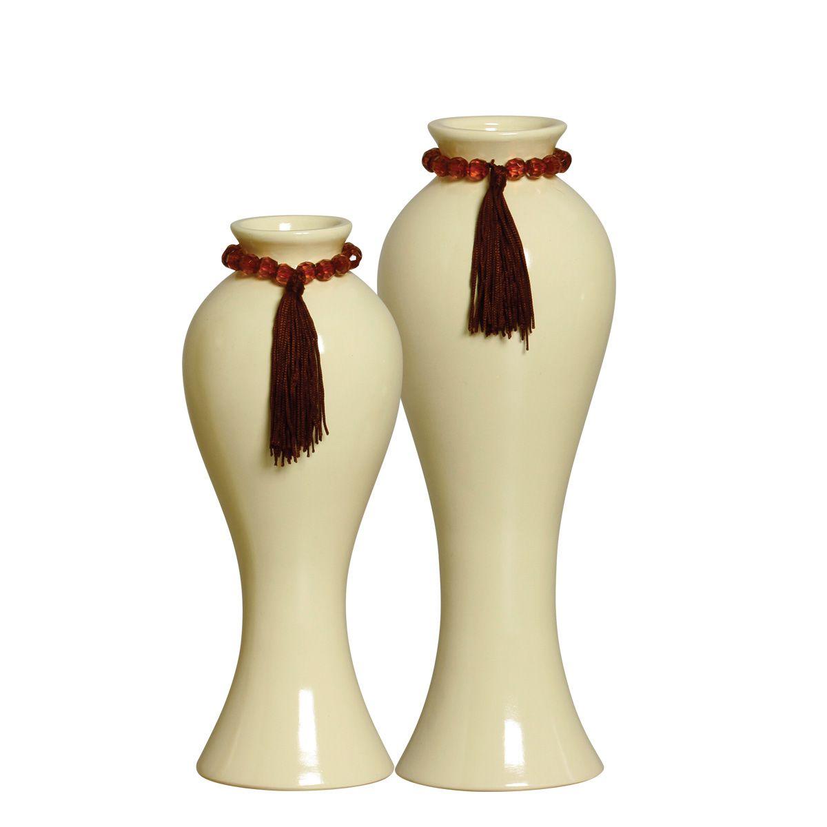 Dupla de Vasos Clássicos Da Linha Fendi P/ Decoração
