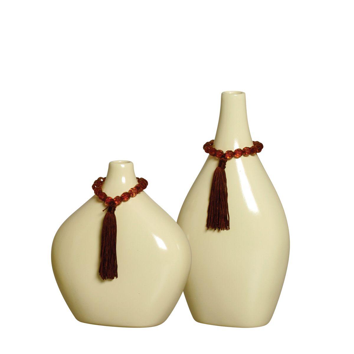 Dupla de Vasos da Linha Fendi  P/ Decoração