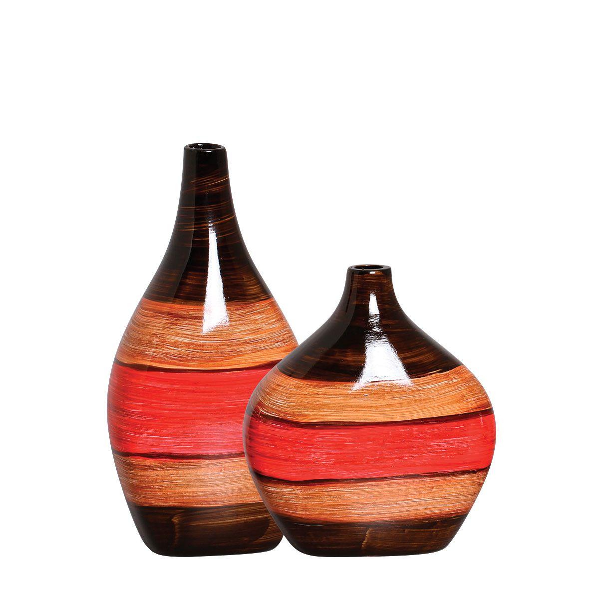 Dupla de Vasos da Linha Olinda P/ Decoração