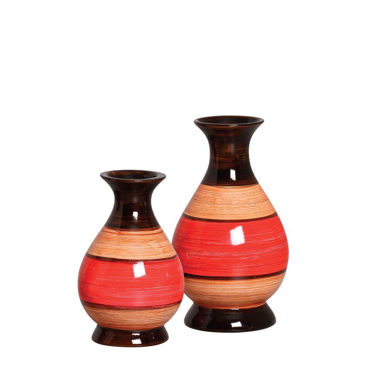 Dupla de Vasos da Linha Olinda P/ Decoração.