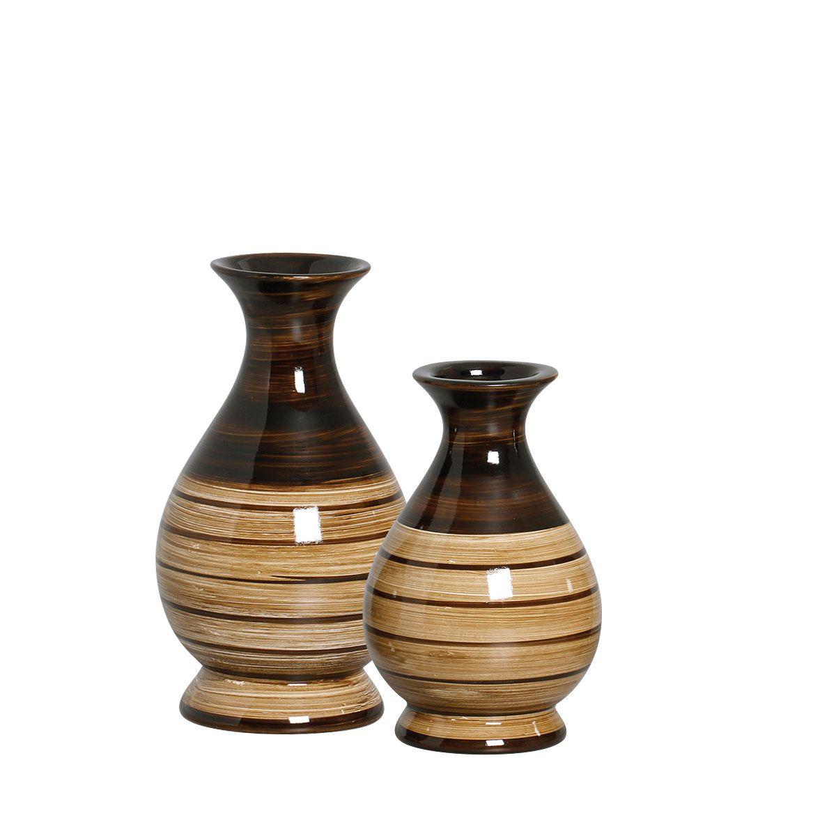 Dupla de Vasos da Linha Toscana P/ Decoração.