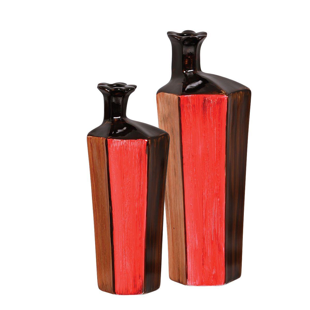 Dupla de Vasos Decorativos Linha Olinda