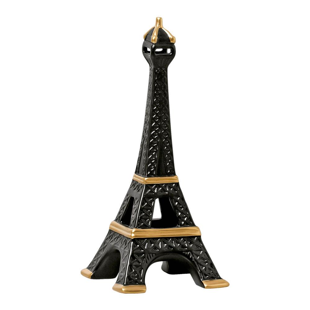 Torre Eiffel em Cerâmica Linha Black Gold 51x22 cm