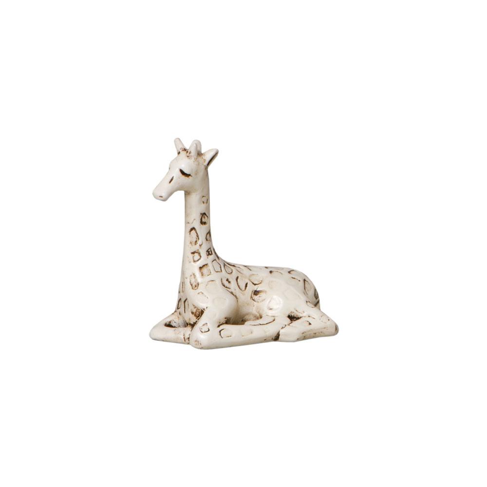 Trio de Girafas Decorativas em Cerâmica Para Sala