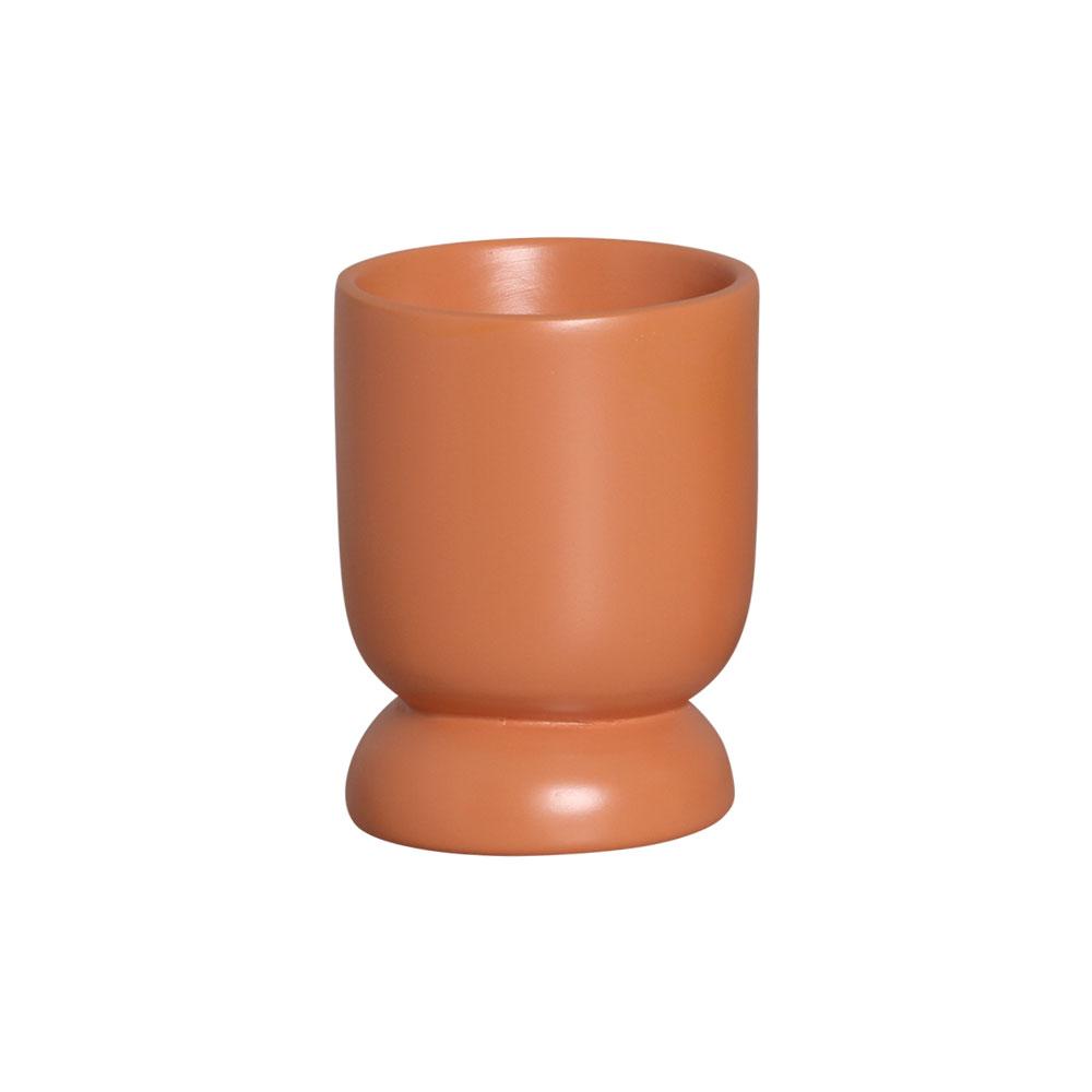 Vasinho M Em Cerâmica Terracota P/ Plantas 13,3x9,6 cm