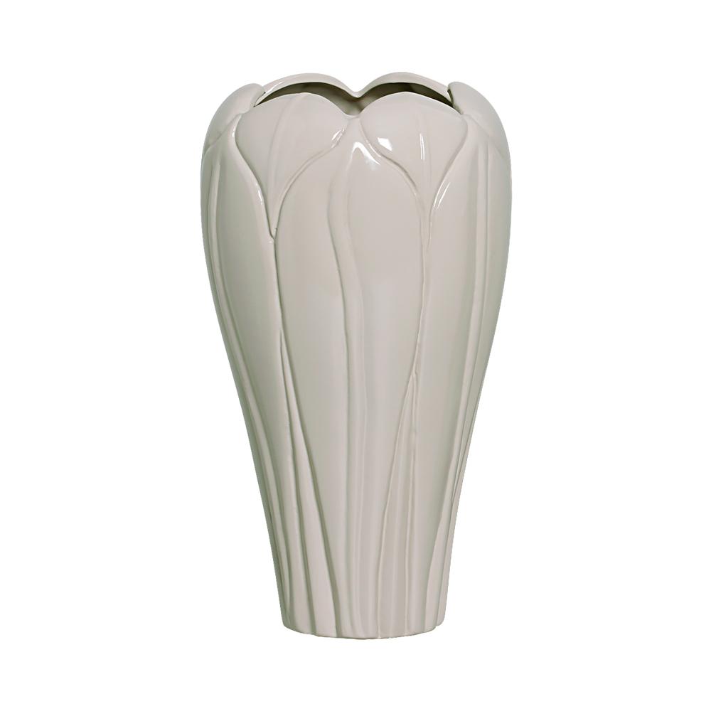 Vaso Alto Folha Linha Fendi 34x16 cm