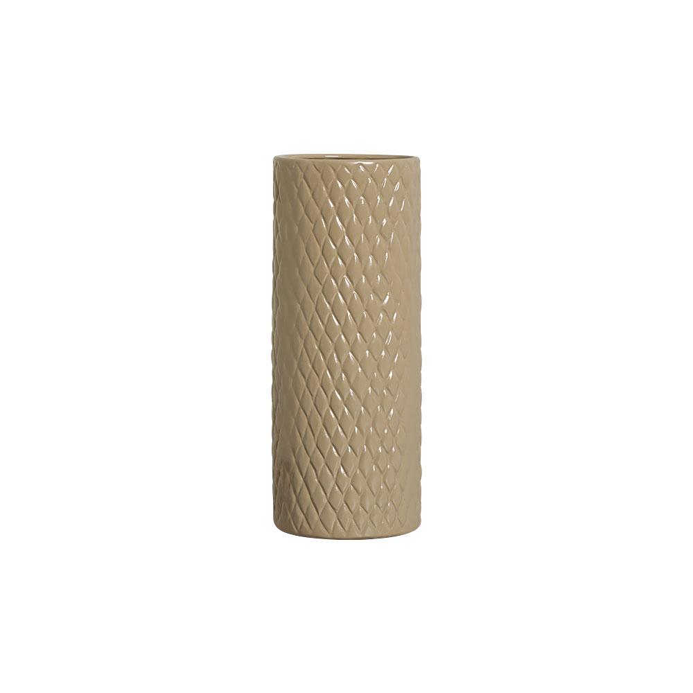Vaso Botanicals Nude Em Cerâmica 32,7x12,7 cm