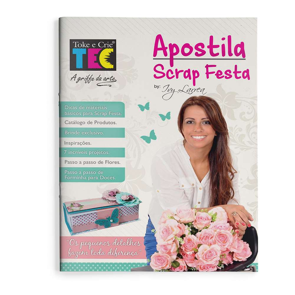 APOSTILA SCRAP FESTA (BY IVY LARREA)
