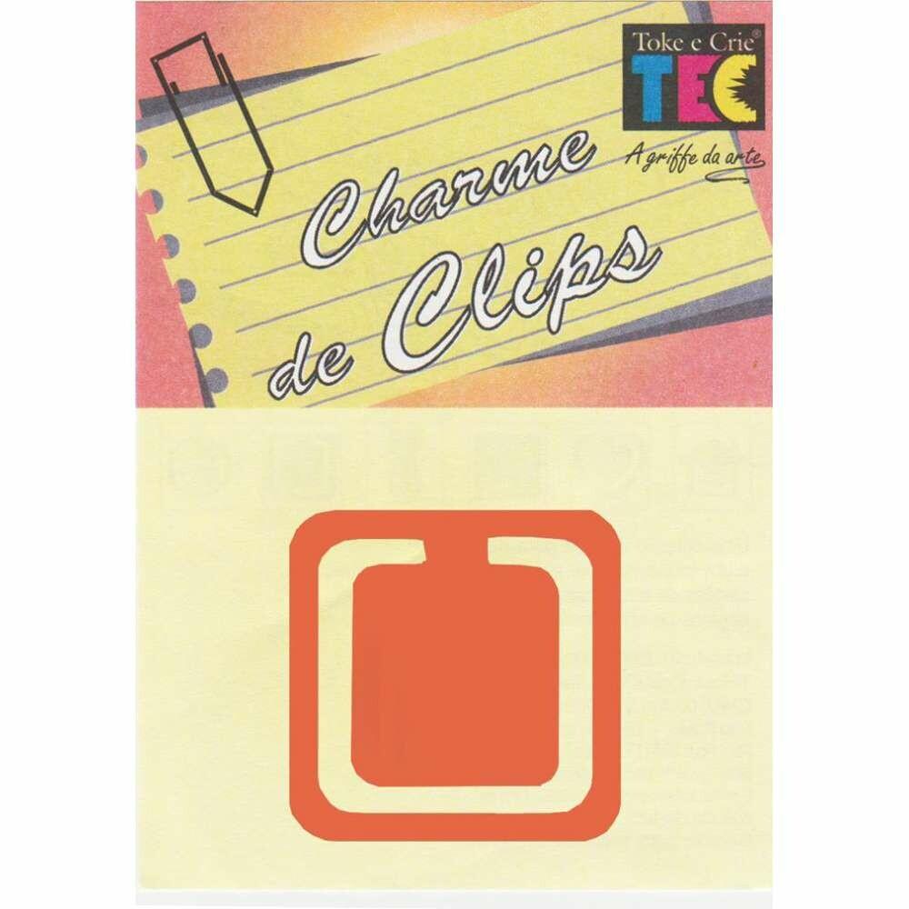 CHARME DE CLIPS QUADRADO COBRE