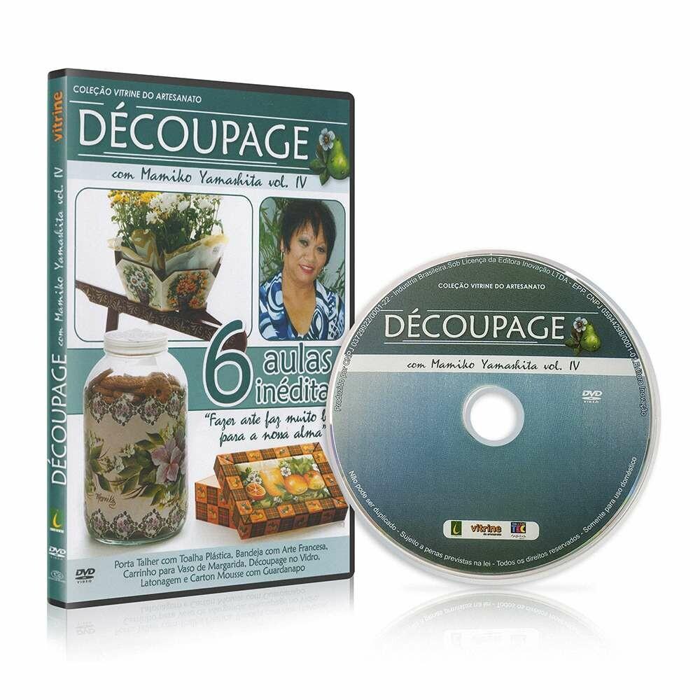 DVD DECOUPAGE - AULAS INÉDITAS COM MAMIKO YAMASHITA