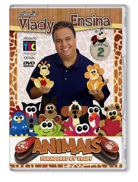 DVD TÉCNICAS ANIMAIS C/ FURADORES - BY VLADY
