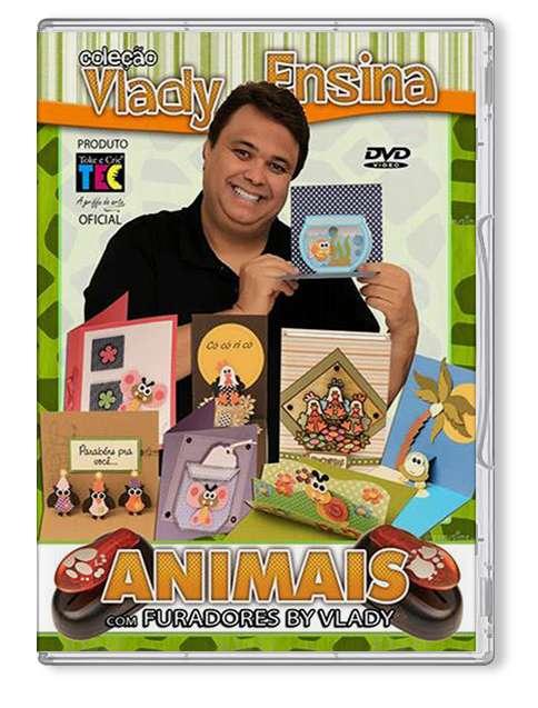 DVD TECNICAS ANIMAIS C/ FURADORES BY VLADY - VLADY ENSINA
