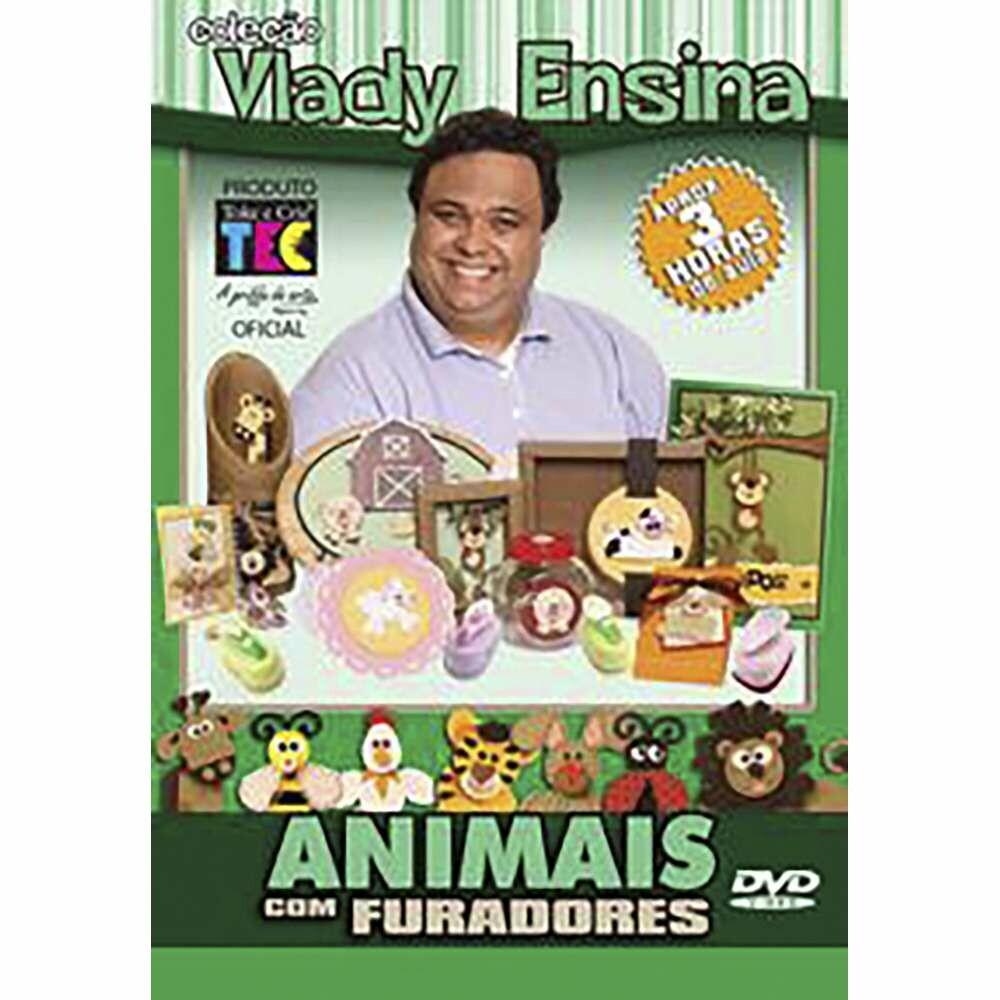 DVD TÉCNICAS ANIMAIS COM FURADORES - VLADY ENSINA