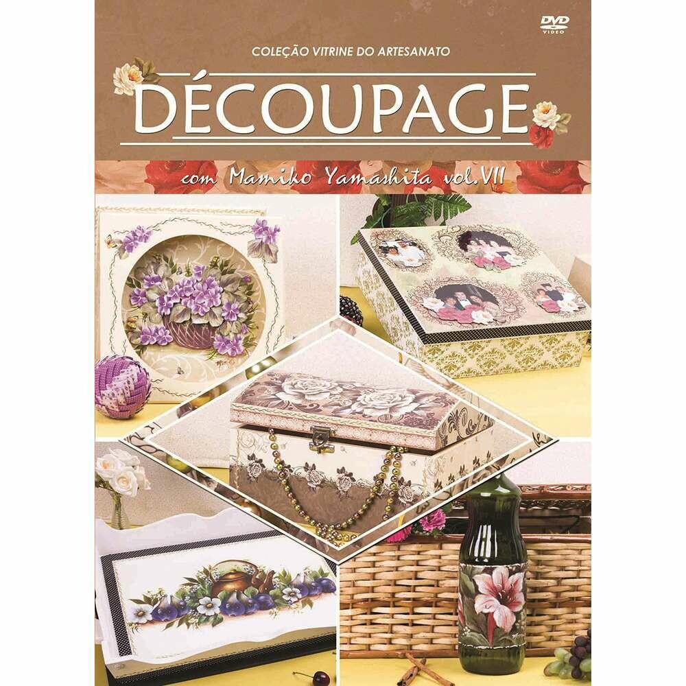 DVD TECNICAS DE DECOUPAGE COM MAMIKO YAMASHITA VII