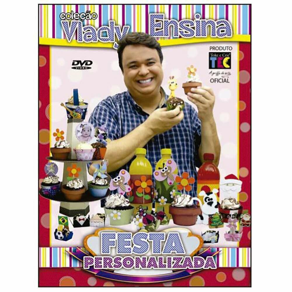 DVD TECNICAS FESTA PERSONALIZADA - VLADY ENSINA
