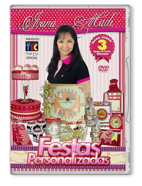 DVD TECNICAS FESTAS PERSONALIZADAS (BY IVANA MADI)