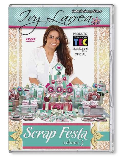 DVD TECNICAS SCRAP FESTA - BY IVY LARREA