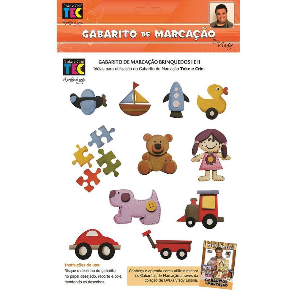 GABARITO DE MARCACAO A/B 230X310 MM BRINQUEDOS (BY VLADY)
