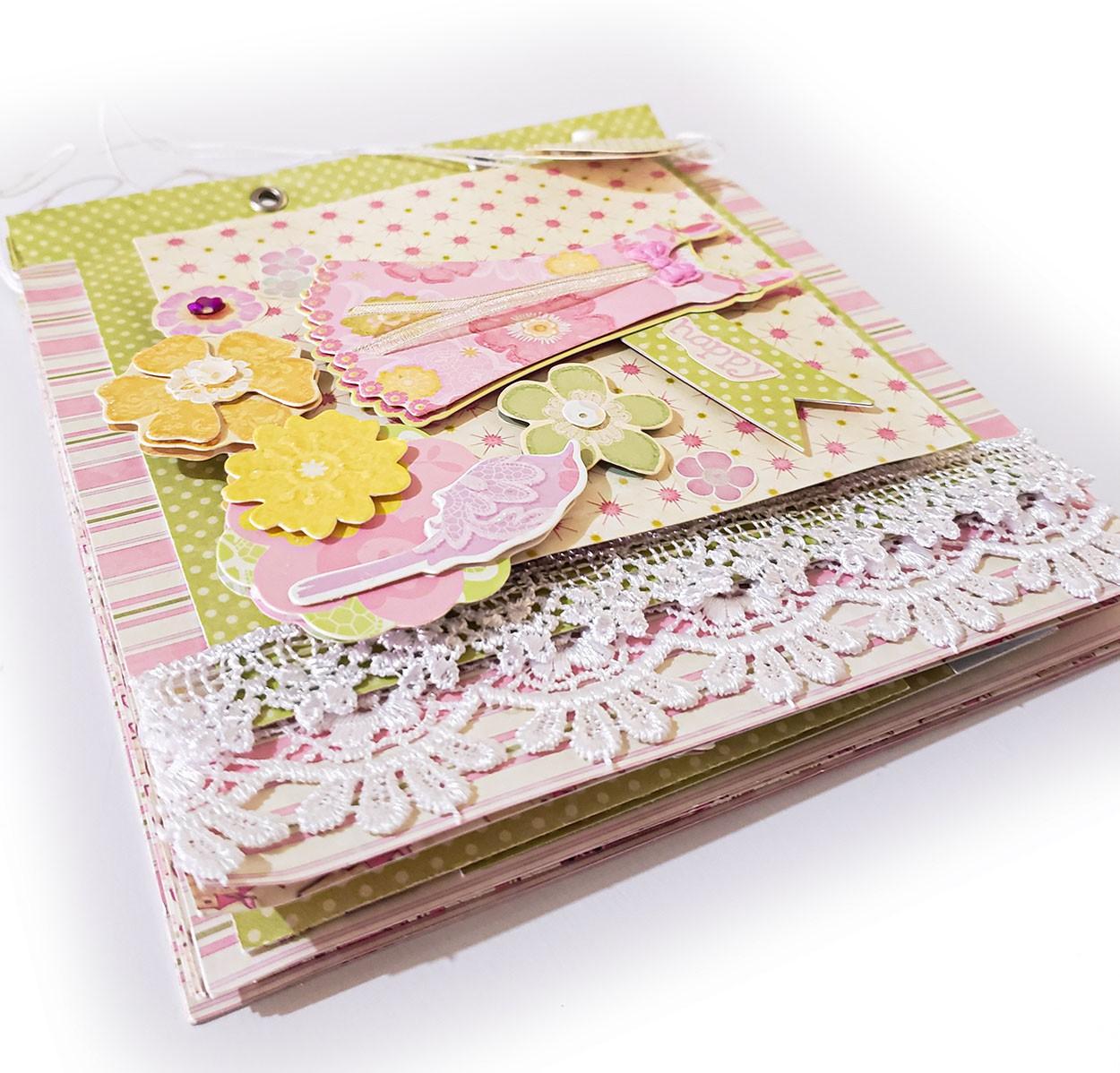 Kit Álbum floral