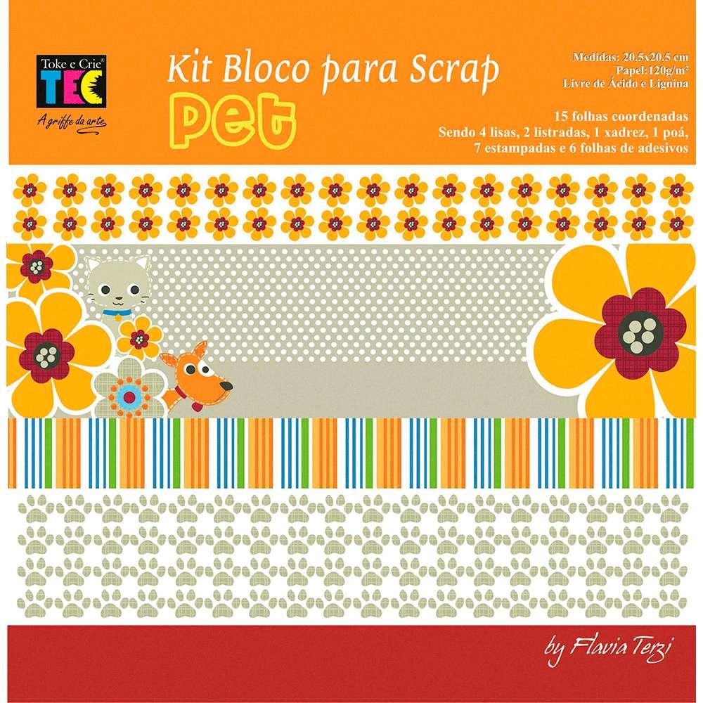 KIT P/ SCRAPBOOK MINI II PET (BY FLAVIA TERZI)