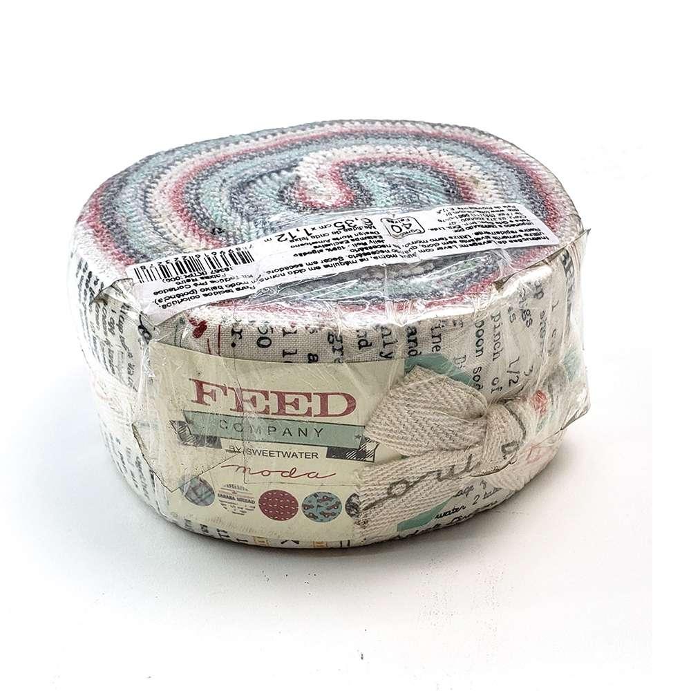 Kit Tecidos Pré-cortados Faixas (jelly Roll) Retrô