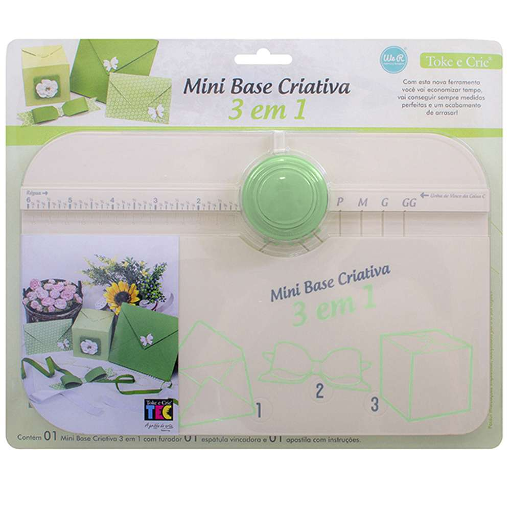 Mini Base Criativa 3 Em 1