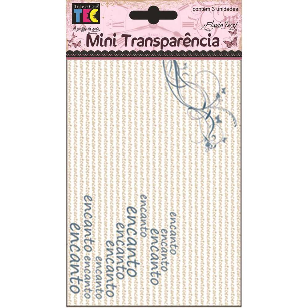 MINI TRANSPARENCIA ENCANTO (BY FLAVIA TERZI)