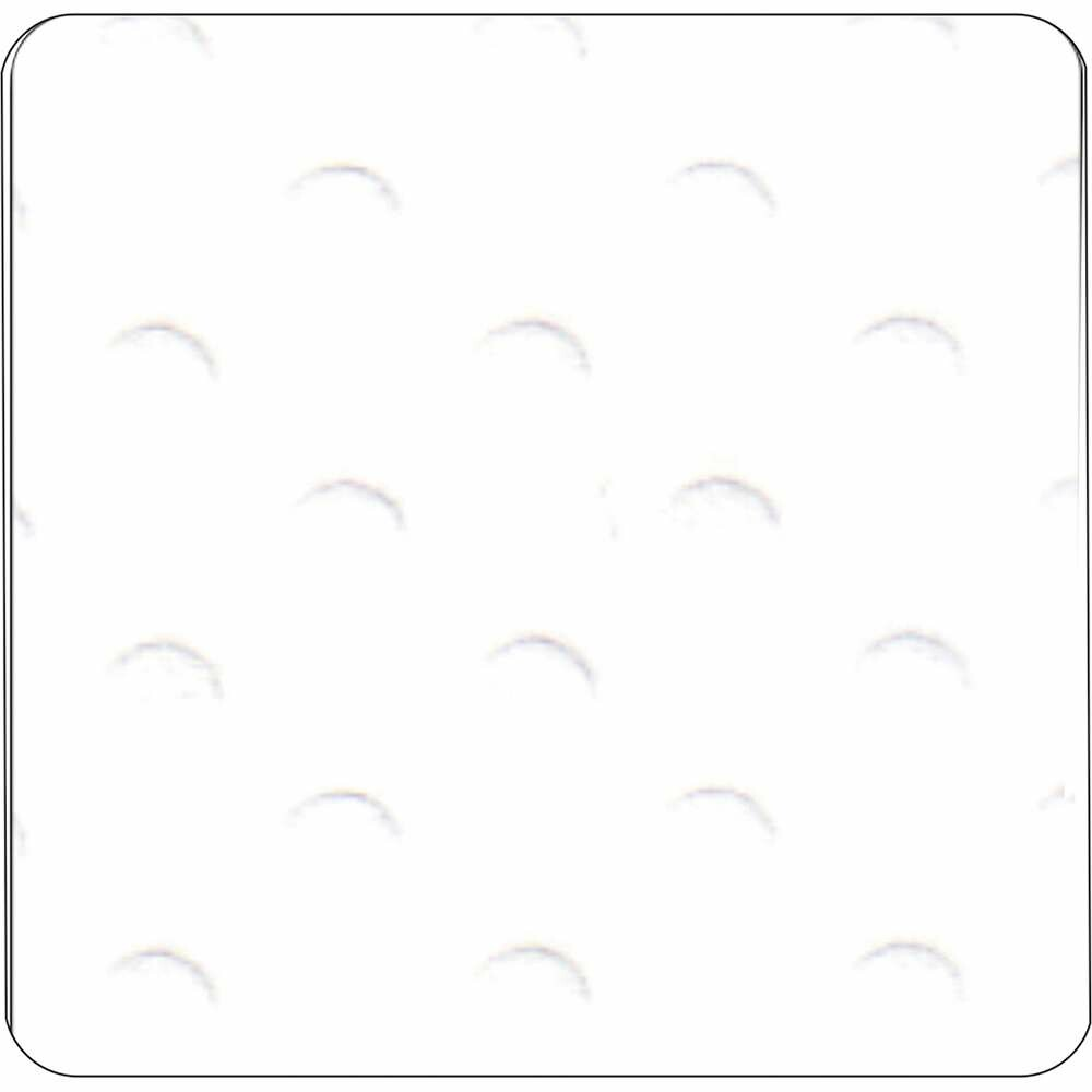 PAPEL P/ SCRAP CARDSTOCK BOLINHAS II BRANCO 30,5X30,5 CM