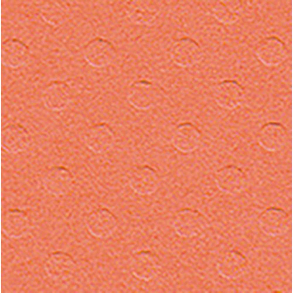 PAPEL P/ SCRAP CARDSTOCK BOLINHAS II CORAL 30,5X30,5 CM