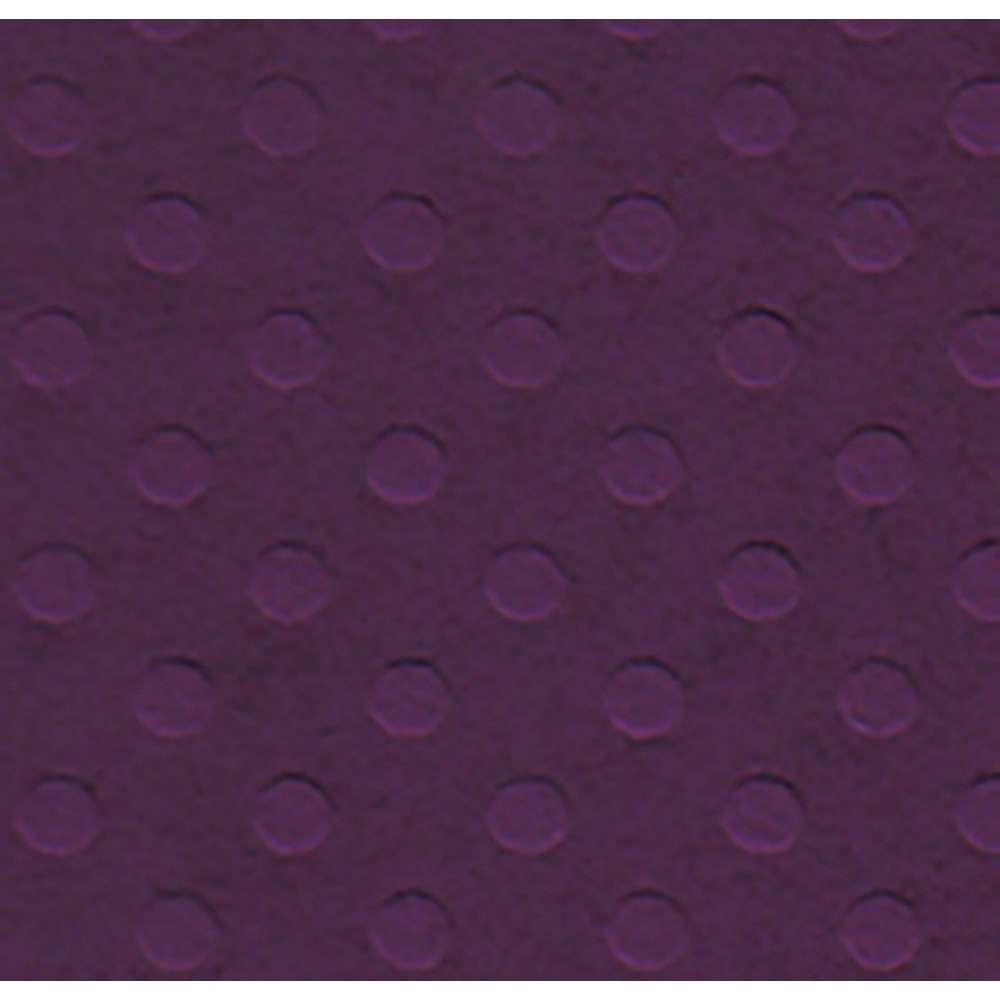PAPEL P/ SCRAP CARDSTOCK BOLINHAS II ROXO 30,5X30,5 CM