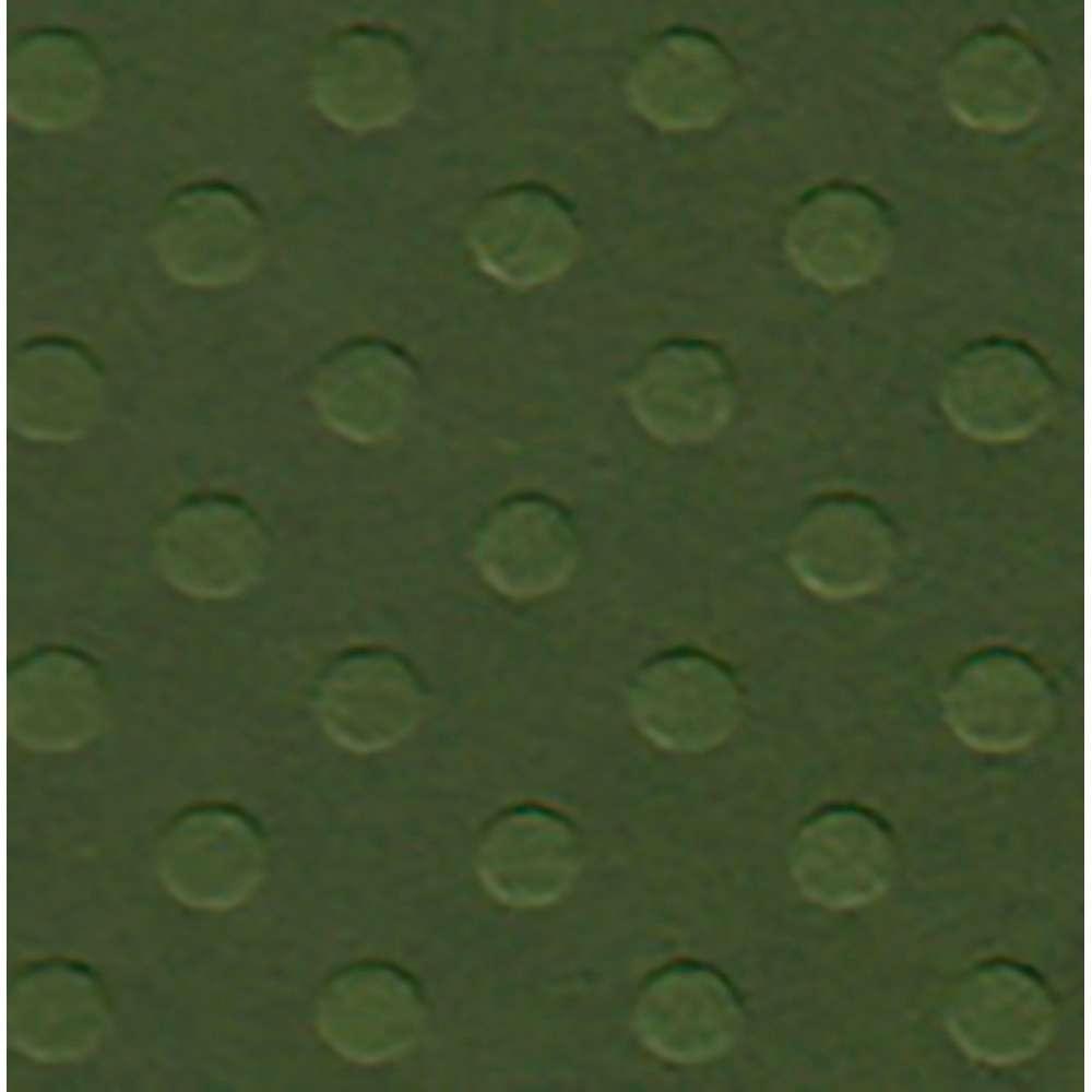 PAPEL P/ SCRAP CARDSTOCK BOLINHAS II VERDE MATA 30,5X30,5 CM