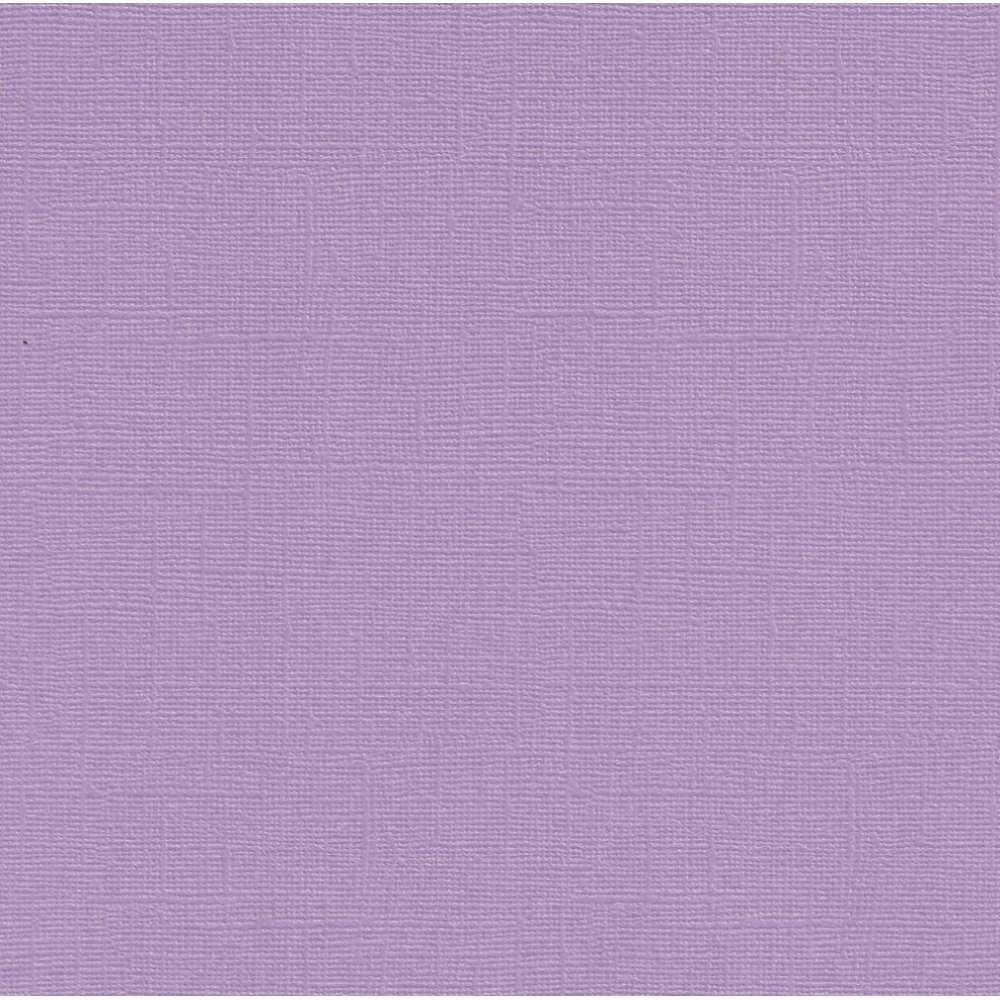 PAPEL P/ SCRAP CARDSTOCK PEROLADO II LAVANDA 30,5X30,5 CM