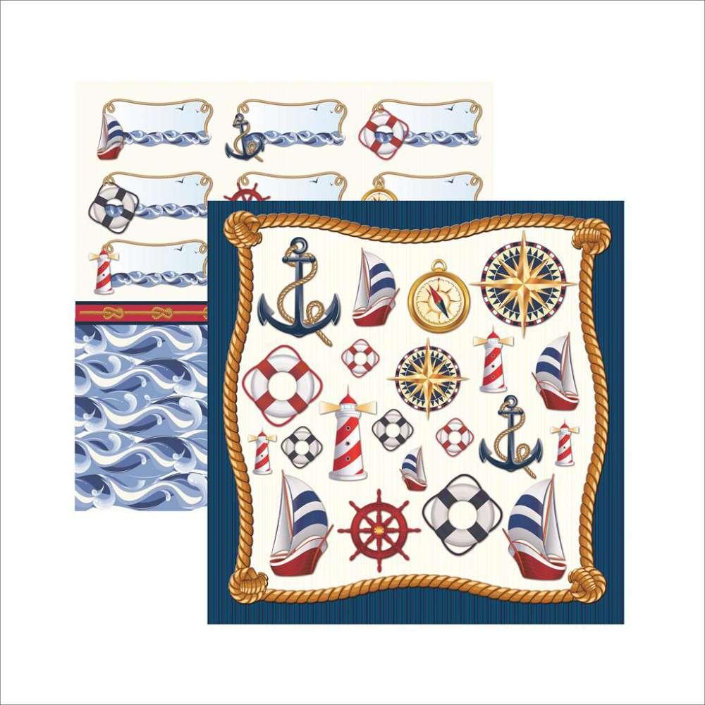 Papel P/ Scrap Df Colecoes Nautica Acessorios (by Ivana Madi)
