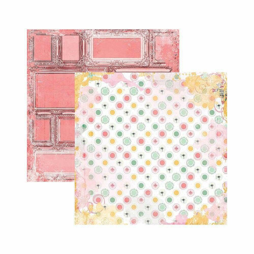 PAPEL P/ SCRAP DF SUNSHINE BLISS PAZ