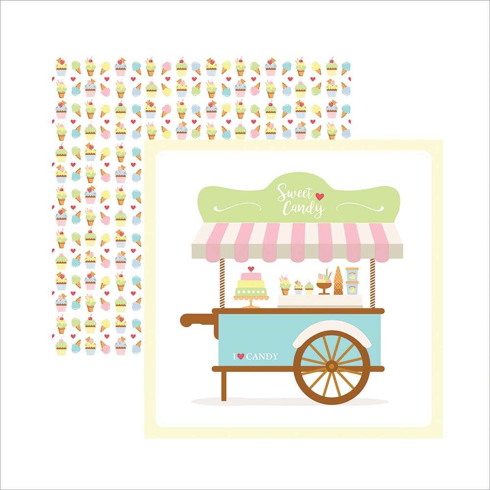 Papel P/ Scrap Festa Df Sweet Candy Guirlanda (by Mariceli)
