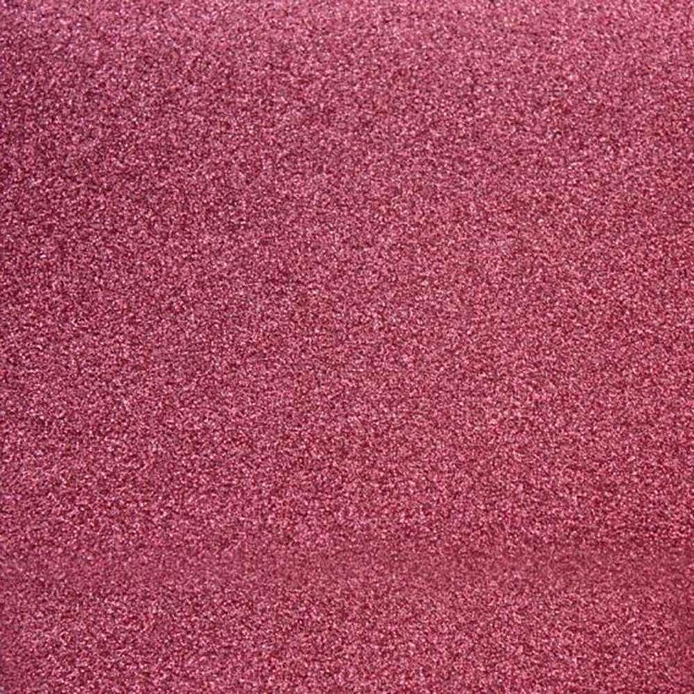 Papel P/ Scrap Puro Glitter Rosa Coral