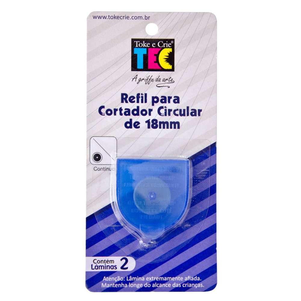 REFIL P/ CORTADOR CIRCULAR 18 MM