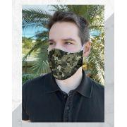 Máscara Anatômica Camuflada