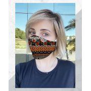 Máscara Anatômica Dark Tribal