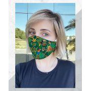 Máscara Anatômica Fauna e Flora