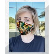 Máscara Anatômica Folhagens