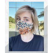 Máscara Anatômica Onça Color