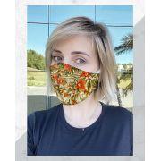 Máscara Anatômica Orquídeas