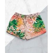Short Feminino Onça Tropical
